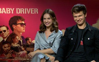 """Ansel Elgort e Lily James: """"In Baby Driver il nostro è un amore vecchia scuola"""""""
