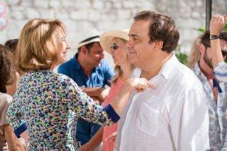 Alibi.com: Didier Bourdon e Nathalie Baye in una scena del film