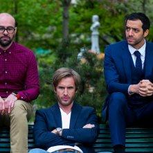 Alibi.com: Philippe Lacheau, Julien Arruti e Tarek Boudali in una scena del film