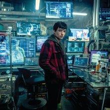 Justice League: una foto di Ezra Miller