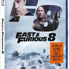 La cover del blu-ray di Fast & Furious 8