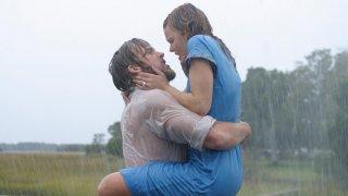 Rachel McAdams e Ryan Gosling in una scena di Le pagine della nostra vita (2004)