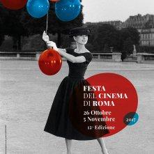 Roma 2017: Grazia ed eleganza senza tempo di una diva del cinema mondiale: Audrey Hepburn nell'immagine ufficiale della dodicesima edizione della Festa