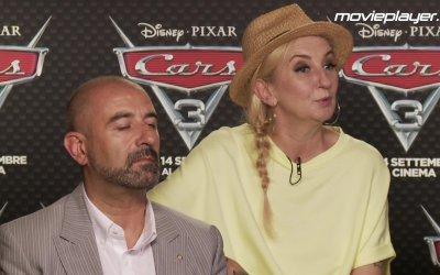 Cars 3: intervista a J-Ax, La Pina, Gianfranco Mazzoni e Ivan Capelli