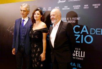 La musica del silenzio: Andrea Bocelli, Luisa Ranieri e Michale Radford alla premiere mondiale di Firenze