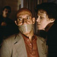 La morte e la fanciulla: Sigourney Weaver e Ben Kingsley in un momento del film