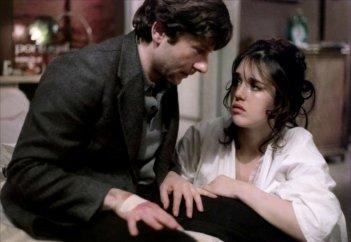 L'inquilino del terzo piano: Roman Polanski e Isabelle Adjani in una scena del film