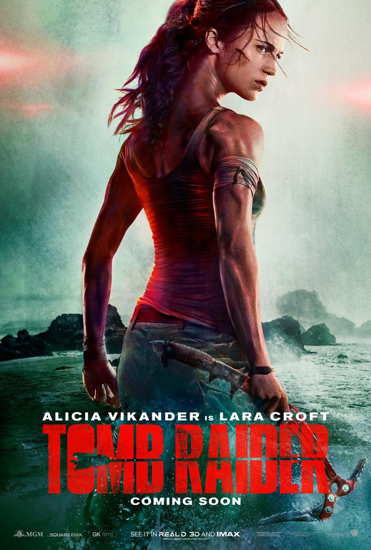 Tomb Raider: il poster del film