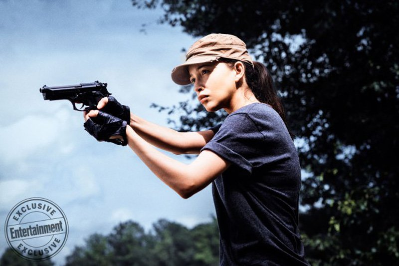 Christian Serratos As Rosita Espinosac2A0 The Walking Dead   Season 8 Gallery Photo Credit Carlos Serrao Amc