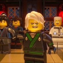 Lego Ninjago - Il film: una foto dei protagonisti