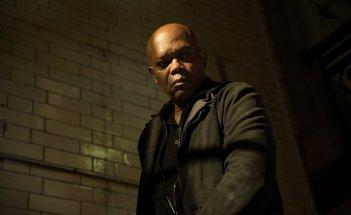 Come ti ammazzo il bodyguard: Samuel L. Jackson in una scena del film