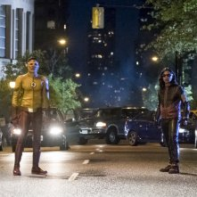 The Flash: Keiynan Lonsdale e Carlos Valdes nella première The Flash Reborn