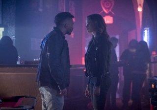 The Flash: Mark Sweatman e Danielle Panabaker in The Flash Reborn