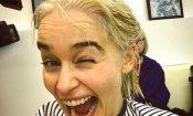 Il trono di spade: finalmente Emilia Clarke si tinge i capelli per la stagione 8!