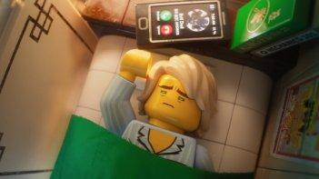 Lego Ninjago - Il film: una scena del film d'animazione