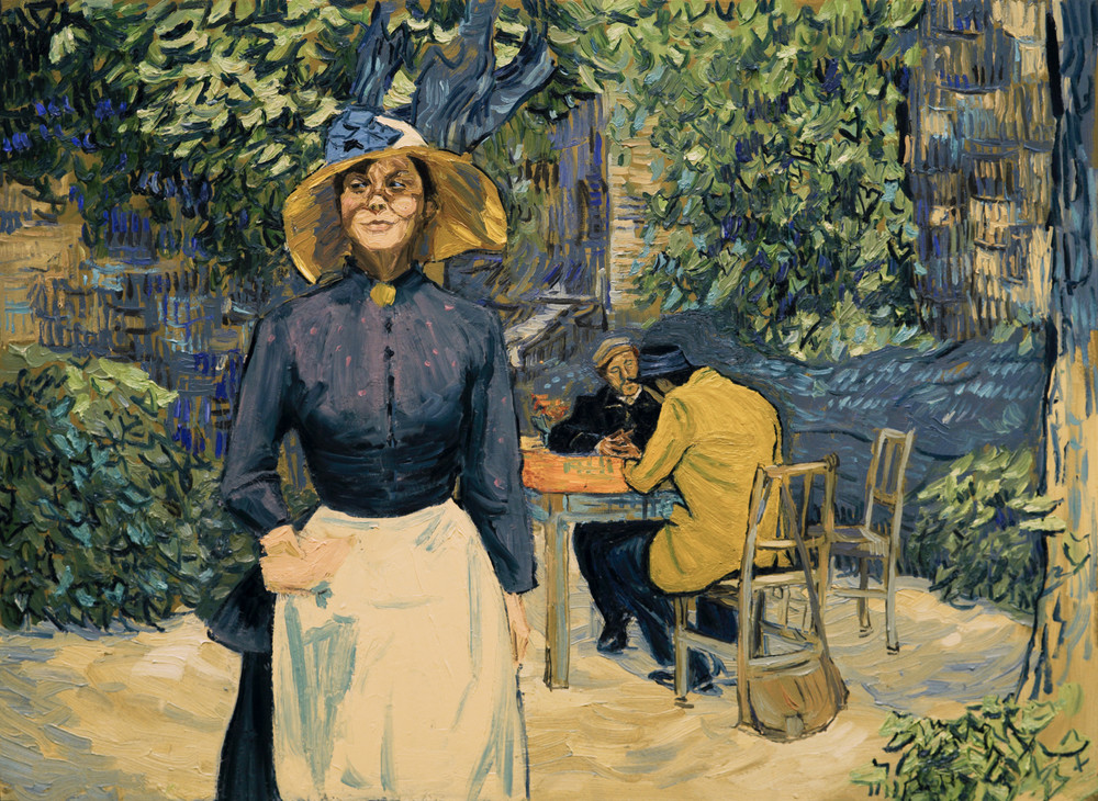 Loving Vincent: un momento del film