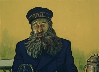 Loving Vincent: una scena del film