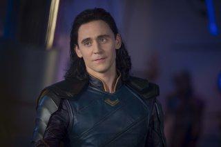 Thor: Ragnarok - Tom Hiddleston in un'immagine del film