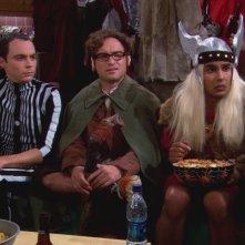 The Big Bang Theory: la gang nell'episodio Il paradigma della Terra di Mezzo