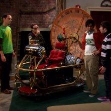 The Big Bang Theory: il cast nell'episodio La macchina del tempo