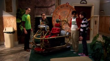 The Big Bang Theory: il cast nell'episodio La macchina del tempo