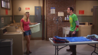 The Big Bang Theory: una scena dell'episodio Il paradigma del pesce guasto