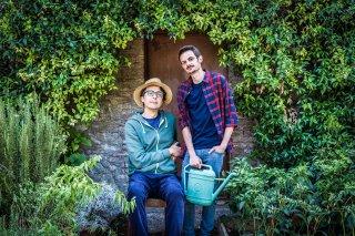 Il Vegetale: Gennaro Nunziante e Fabio Rovazzi sul set