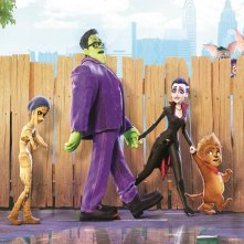 Monster Family: un'immagine tratta dal film d'animazione