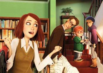 Monster Family: un'immagine del film animato
