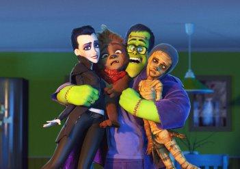 Monster Family: un'immagine del film d'animazione