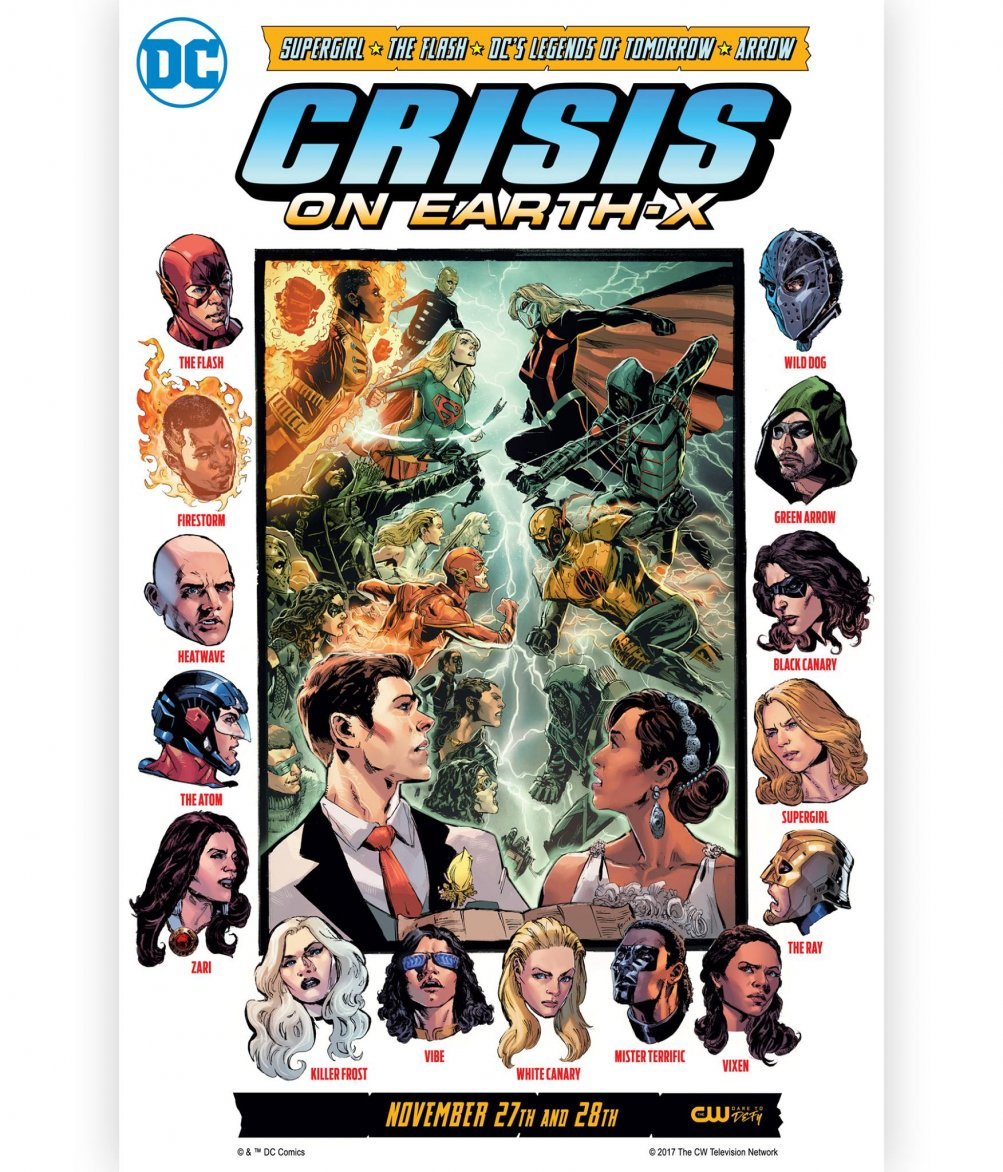 Crisis on Earth-X: il poster del crossover