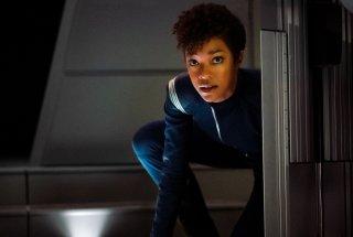 Star Trek: Discovery, una scena con Sonequa Martin-Green