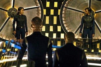 Star Trek: Discovery, Michelle Yeoh e Sonequa Martin-Green