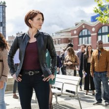 Supergirl: una foto di Chyler Leigh in Girl of Steel