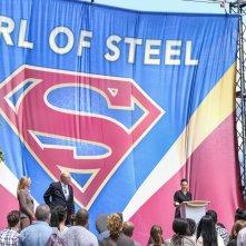 Supergirl: una foto dell'episodio Girl of Steel