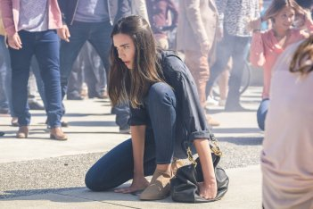 Supergirl: Odette Annable interpreta Sam in Girl of Steel