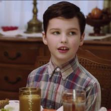 Young Sheldon: Iain Armitage in una scena del pilot