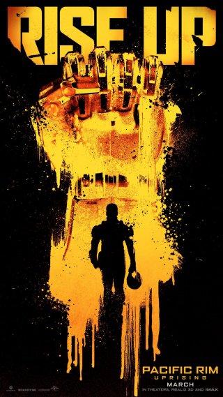 Pacific Rim: Uprising, un poster del film