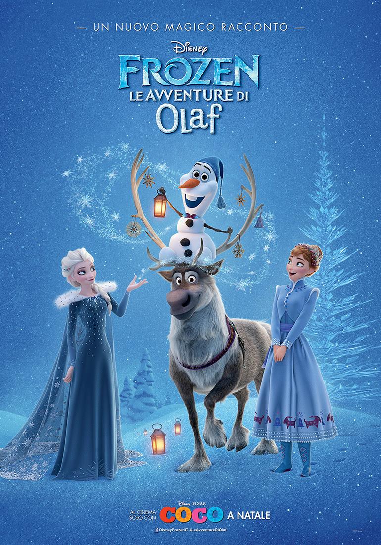 Frozen - Le avventure di Olaf, il poster del cortometraggio