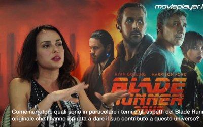 Blade Runner 2049: Video intervista a Denis Villeneuve e Sylvia Hoeks