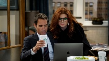 Will & Grace: i protagonisti Eric McCormack e Debra Messing in Eleven Years Later