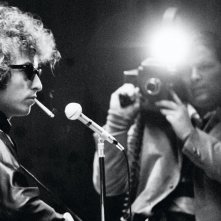 Don't Look Back: Bob Dylan in un'immagine del documentario di D.A. Pennebaker