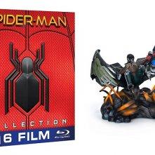L'edizione di Spider-Man: Homocoming con statua