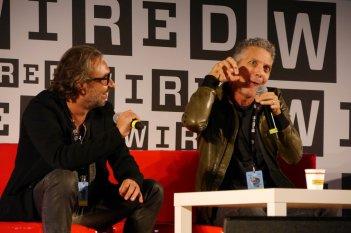 Chi m'ha visto, Beppe Fiorello e il regista Alessandro Pondi al Wired Next Fest