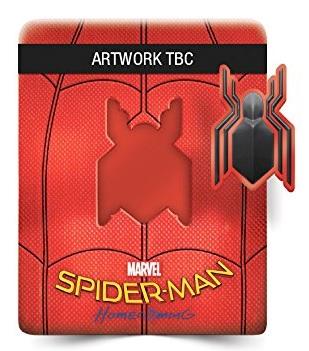 L'edizione di Spider-Man: Homecoming steelbook con magnete