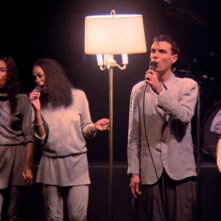 Stop Making Sense: un'immagine del documentario di Demme