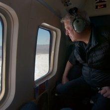 Una scomoda verità 2: Al Gore su un aereo in un momento del documentario