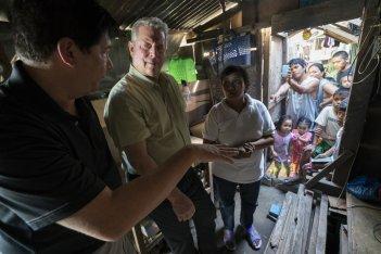 Una scomoda verità 2: Al Gore in un'immagine tratta dal documentario