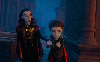 Vampiretto: un'immagine del film animato