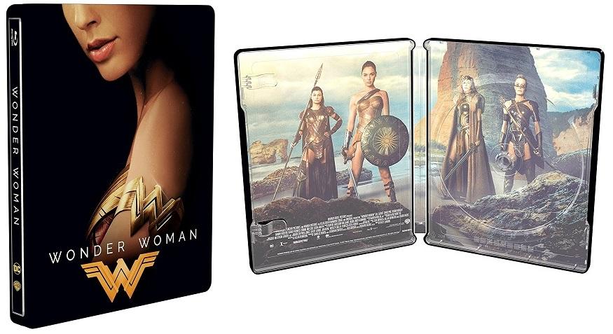 Wonder Woman edizione Steelbook